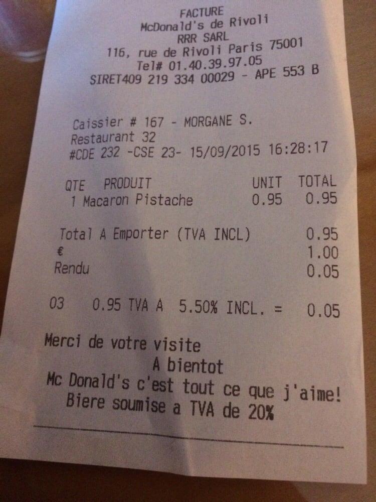 Mcdonald s 15 photos fast food 116 rue de rivoli ch telet les halles paris restaurant - Numero de telephone printemps haussmann ...