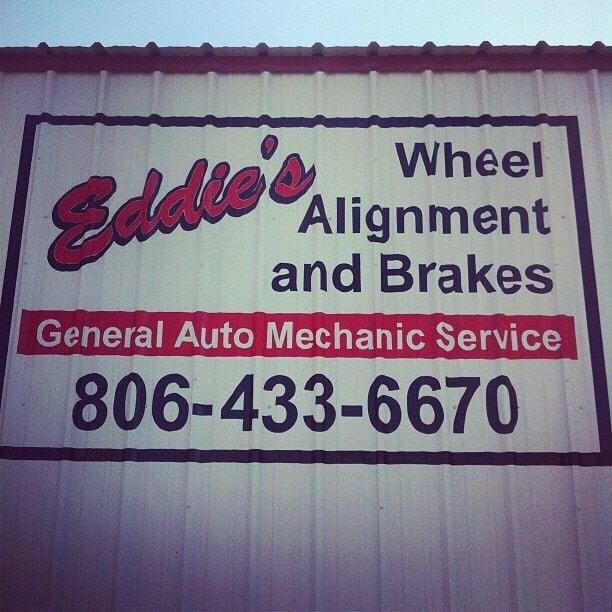 Eddie's Wheel Alignment and Brakes: 1904 SE 9th Ave, Amarillo, TX