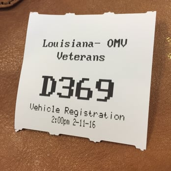 Louisiana motor vehicle registration for Department of motor vehicles in new orleans