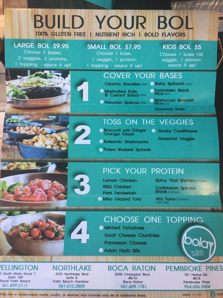 The menu - Yelp