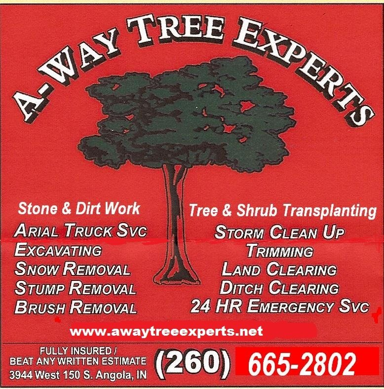 A-Way Tree Experts: 3944 W 150th S, Angola, IN