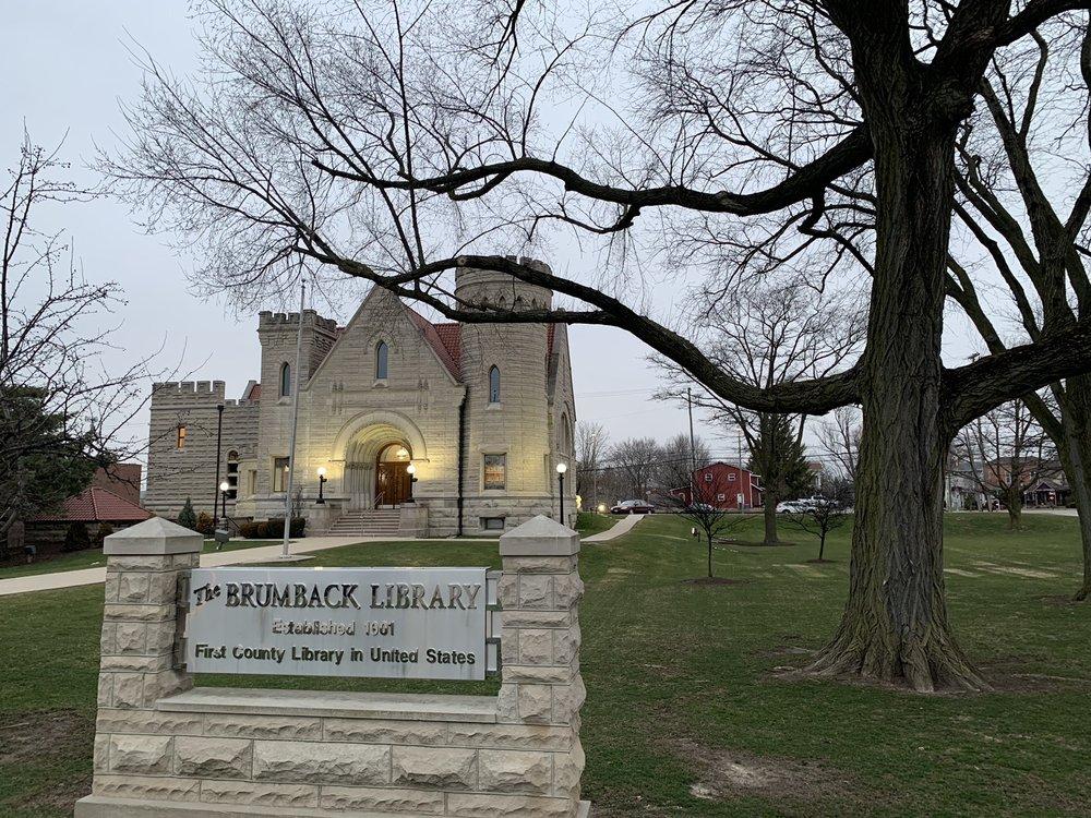 Library Brumback: 215 W Main St, Van Wert, OH