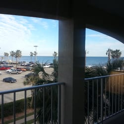 Photo Of Beachfront Palms Hotel Galveston Tx United States View From My