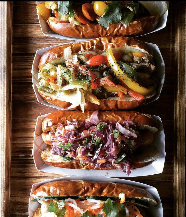 Eugene's Sausage and Fries: 15111 Washington St, Haymarket, VA