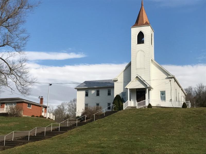 1st Twelve Mile Baptist Church: 3288 Oneonta Rd, California, KY
