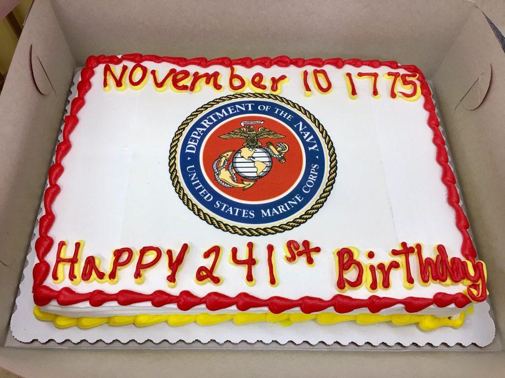 Semper Fi Birthday Cake Images