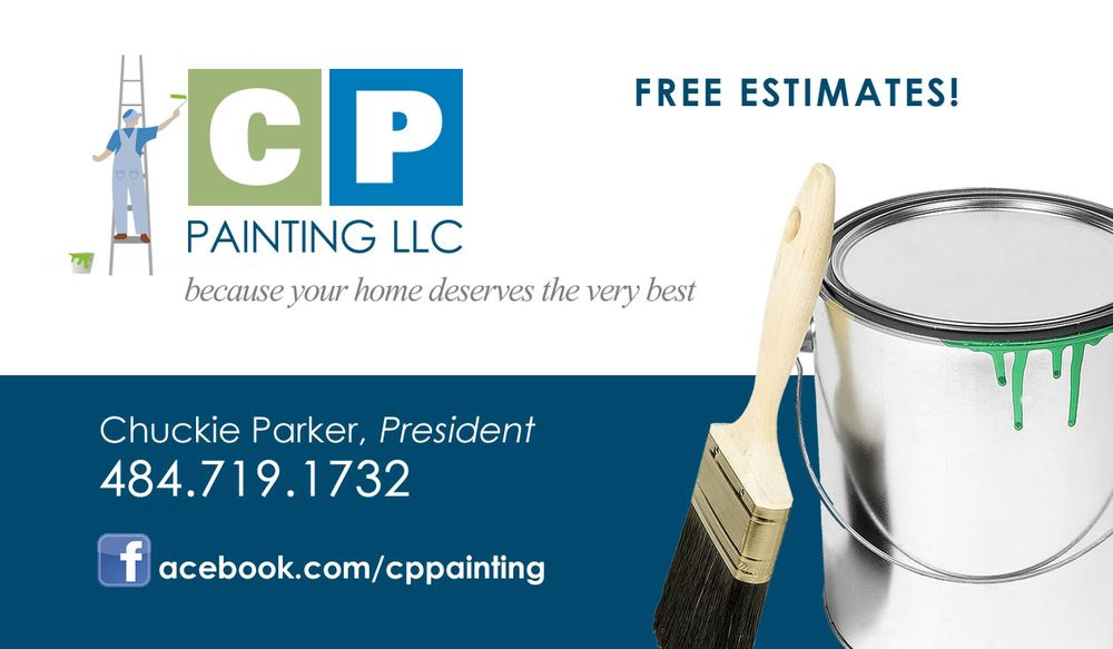 Cp painting business card yelp photo of cp painting cherry hill nj united states cp painting business reheart Gallery