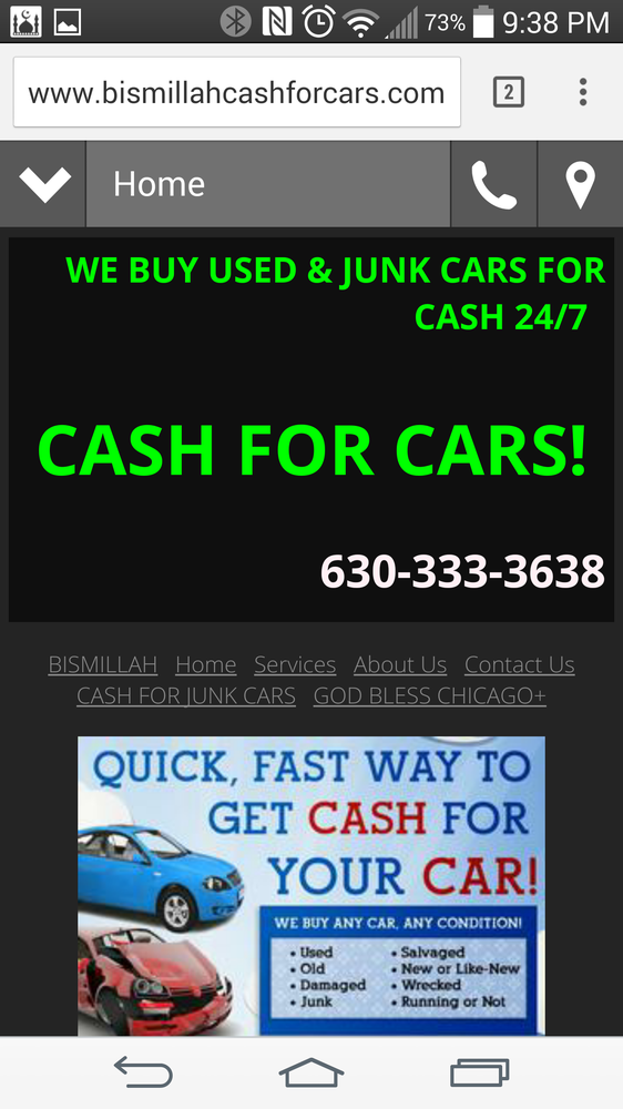 A+ We Buy Used & Junk Cars For Cash! Junk My Car Cash For Cars - 11 ...