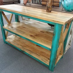 Photo Of Backwoods Custom Furniture   Houston, MS, United States. Gray  Stained Pine