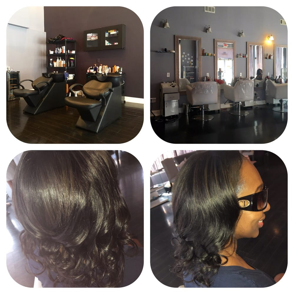 Spacious clean and relaxing all i need is wine yelp for Renee hair salon
