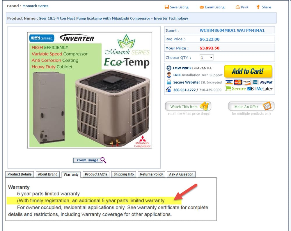 Ac Warehouse 18 Reviews Heating Amp Air Conditioning