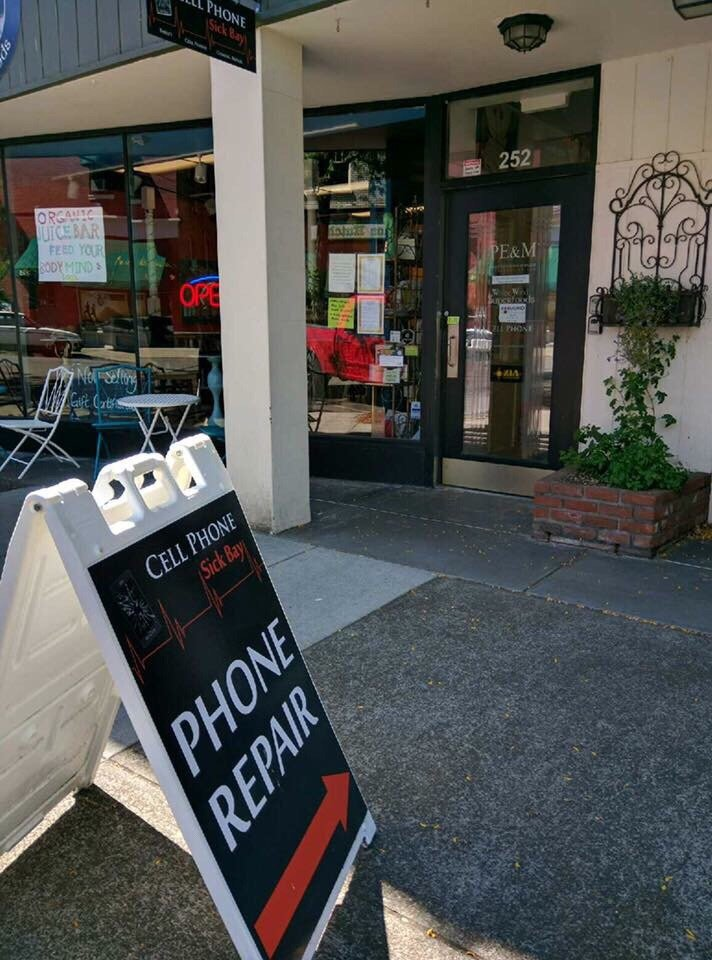 Cell Phone Sick Bay: 252 SW Madison Ave, Corvallis, OR