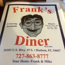 Frank's Diner logo