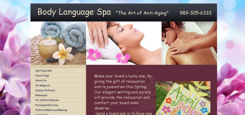 Body Language Spa: 1175 W Lake St, Tawas City, MI