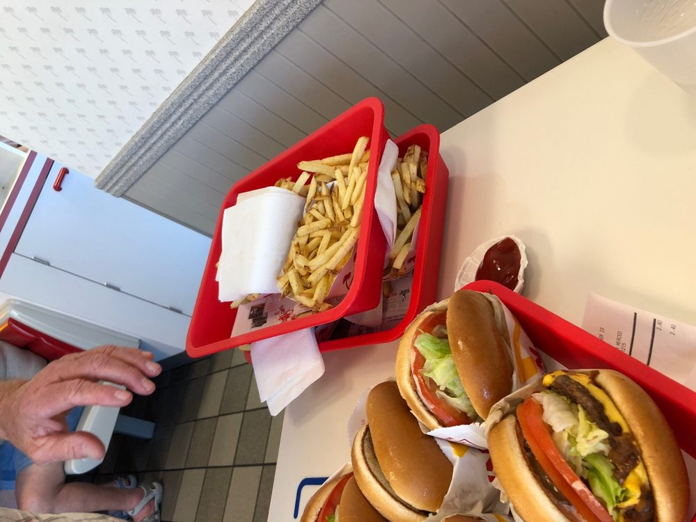 Food from In-N-Out Burger