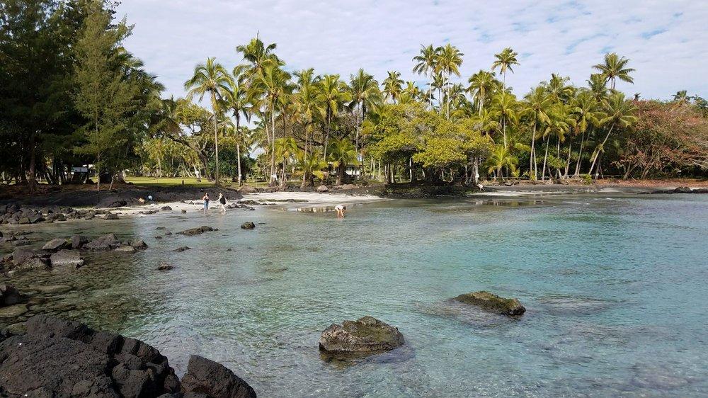 Ha'ena Beach - aka Shipman Beach: Kaloli Dr, Keaau, HI
