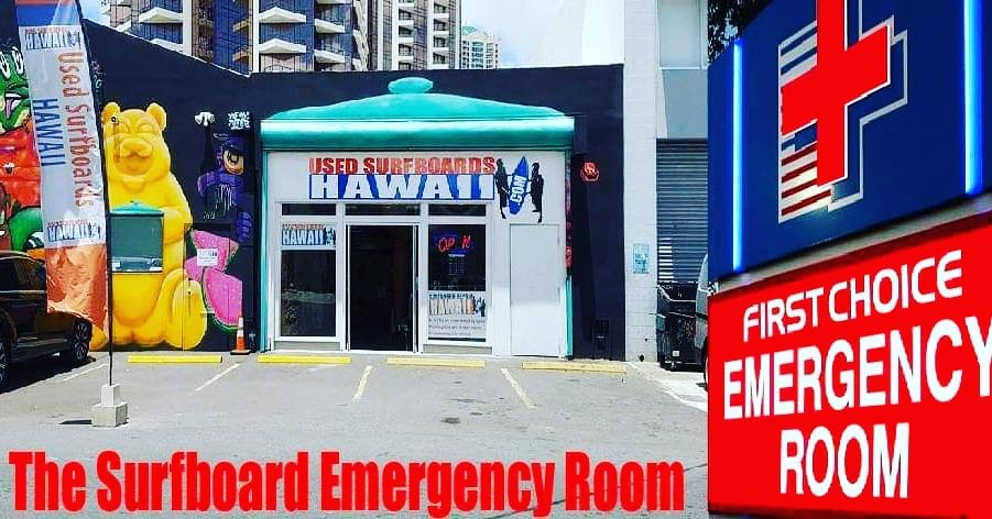 Surfboard Repair Hawaii Surf Shop 762 Queen St Kaka Ako