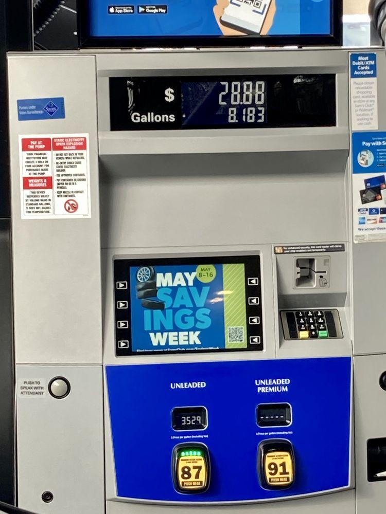 Sams Club Gasoline: 1390 S Beach Blvd, La Habra, CA