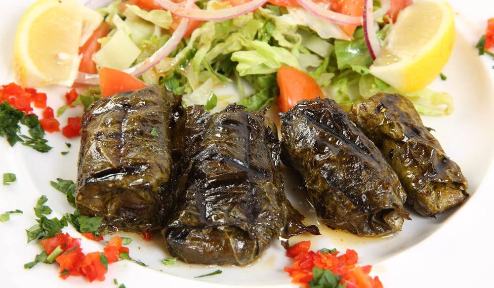 Salmon in grape leaves yelp for Ali baba cuisine