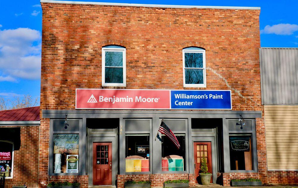 Williamson's Paint Center: 140 N Trade Ave, Landrum, SC