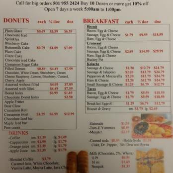 Shipley donuts menu - Hockey in san antonio