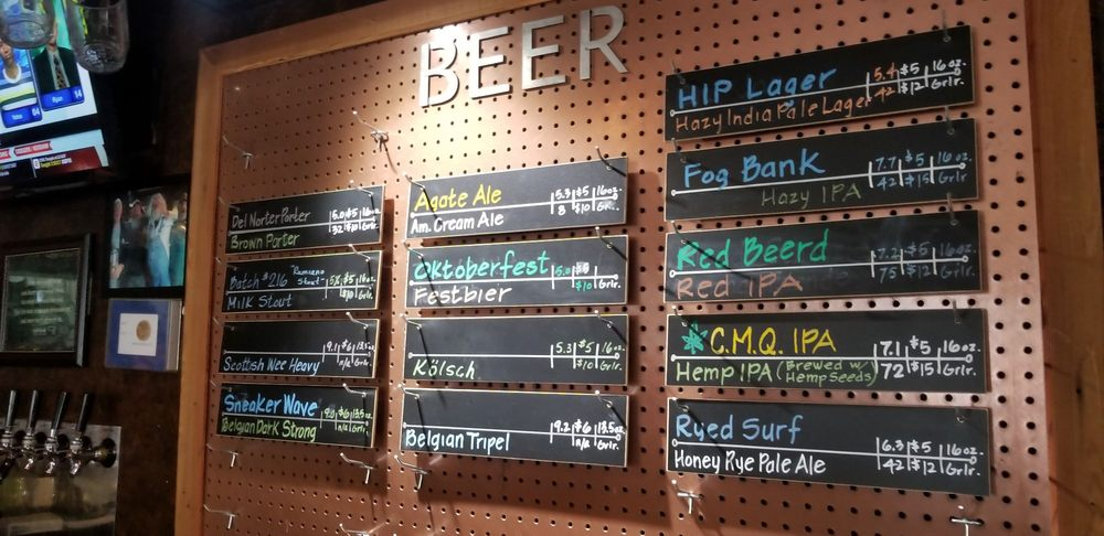Port O'Pints Brewing: 1215 Northcrest Dr, Crescent City, CA