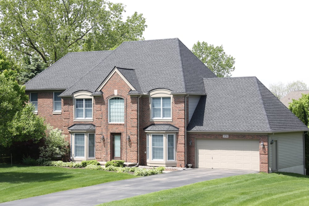 Auto Glass Replacement Near Me >> GAF Timberline HD ULTRA Charcoal - Yelp