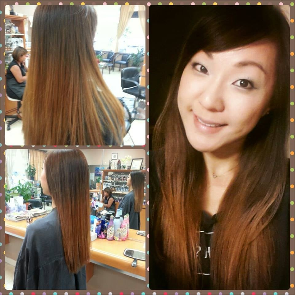 Natural ombre blow dried straight done by jenny yelp for Allure hair salon