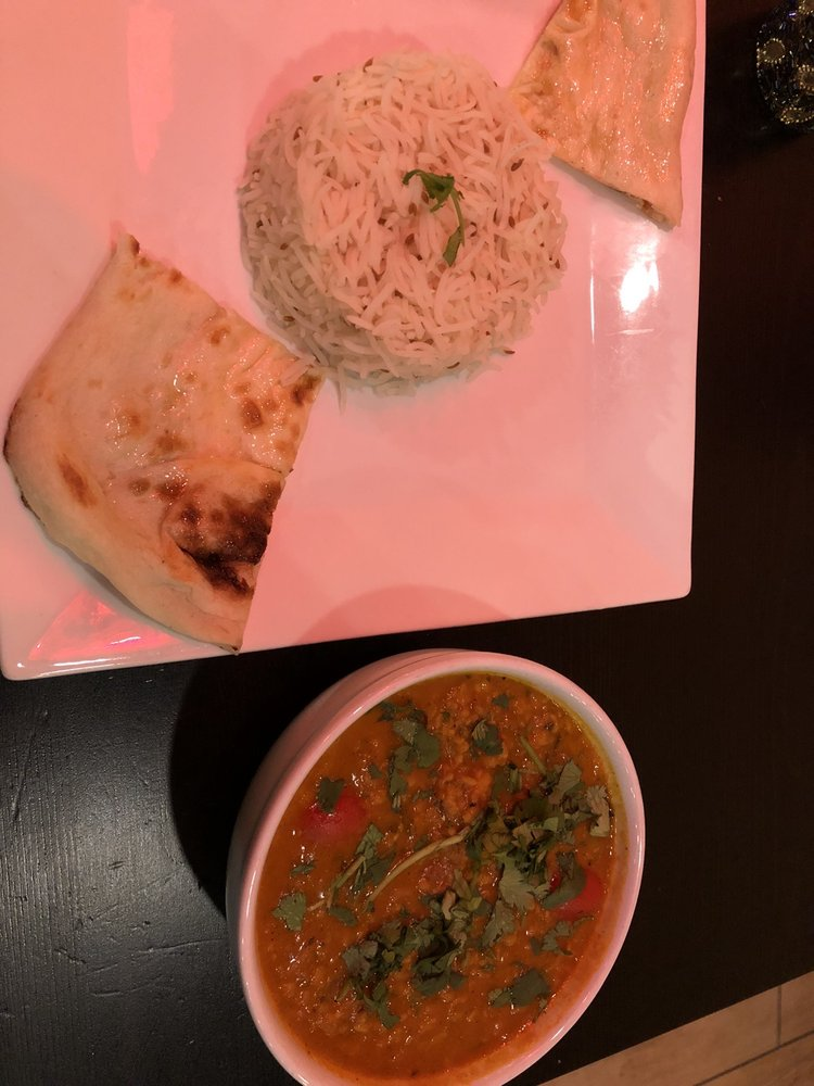 Food from Hamir's Indian Fusion