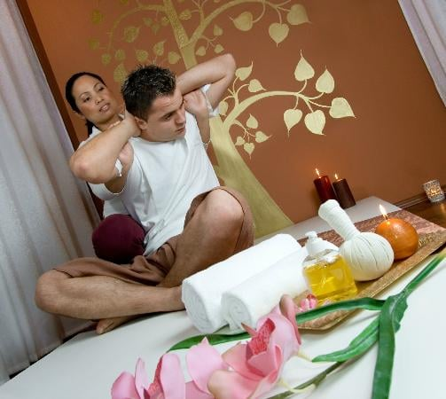 Traditional thai massage is one of the healing arts of thai remedy includes stretching to reduce - Salon massage thai paris 9 ...