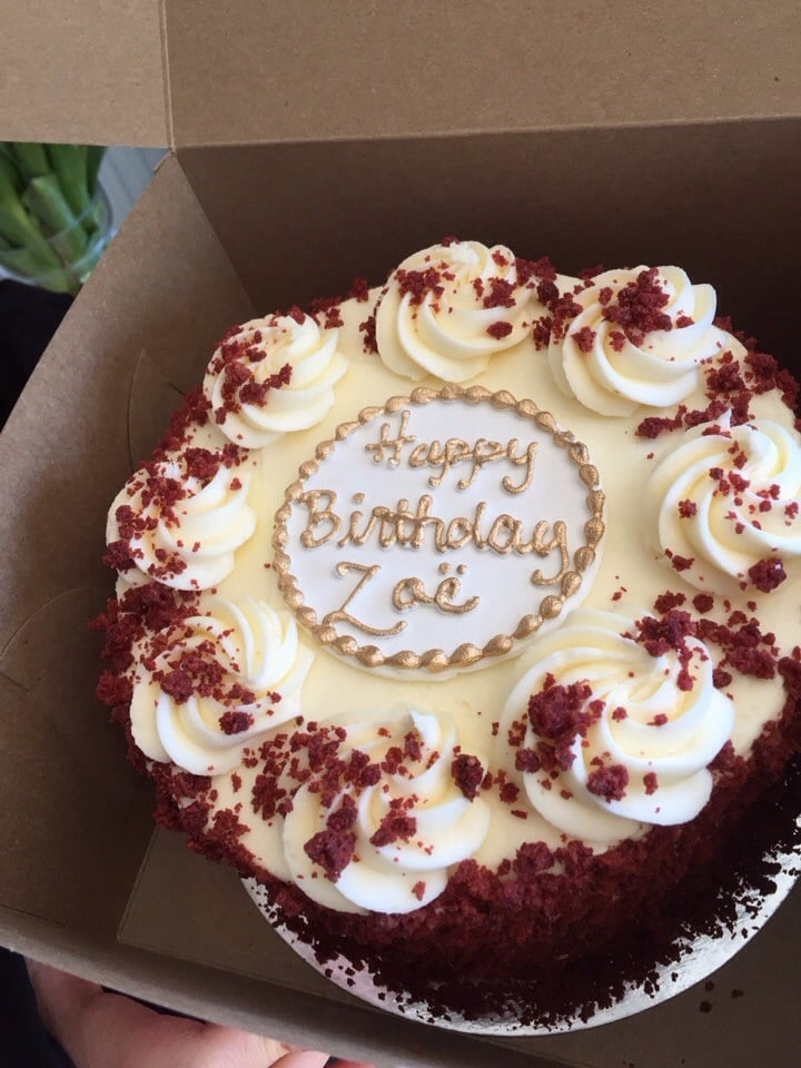 Rolling Pin Red Velvet Birthday Cake Yelp