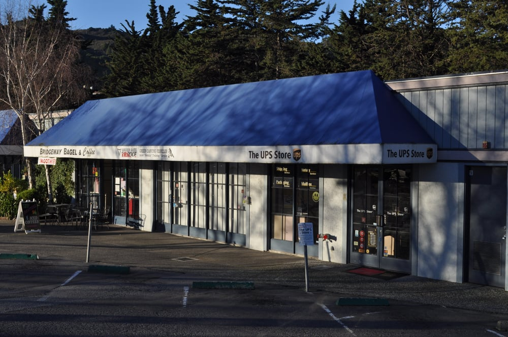 The UPS Store: 3001 Bridgeway Blvd, Sausalito, CA