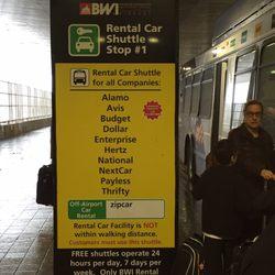 avis car rental bwi  BWI Thurgood Marshall Airport Rental Car Facility - 30 Photos