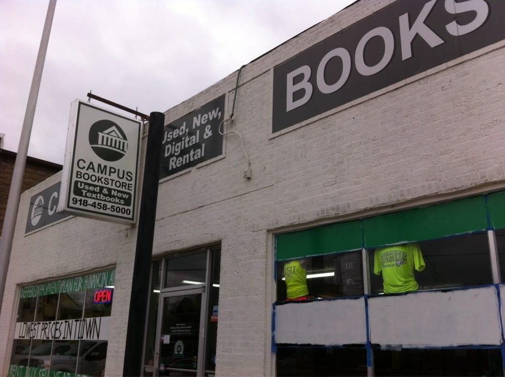 Campus Bookstore: 109 Spring St, Tahlequah, OK