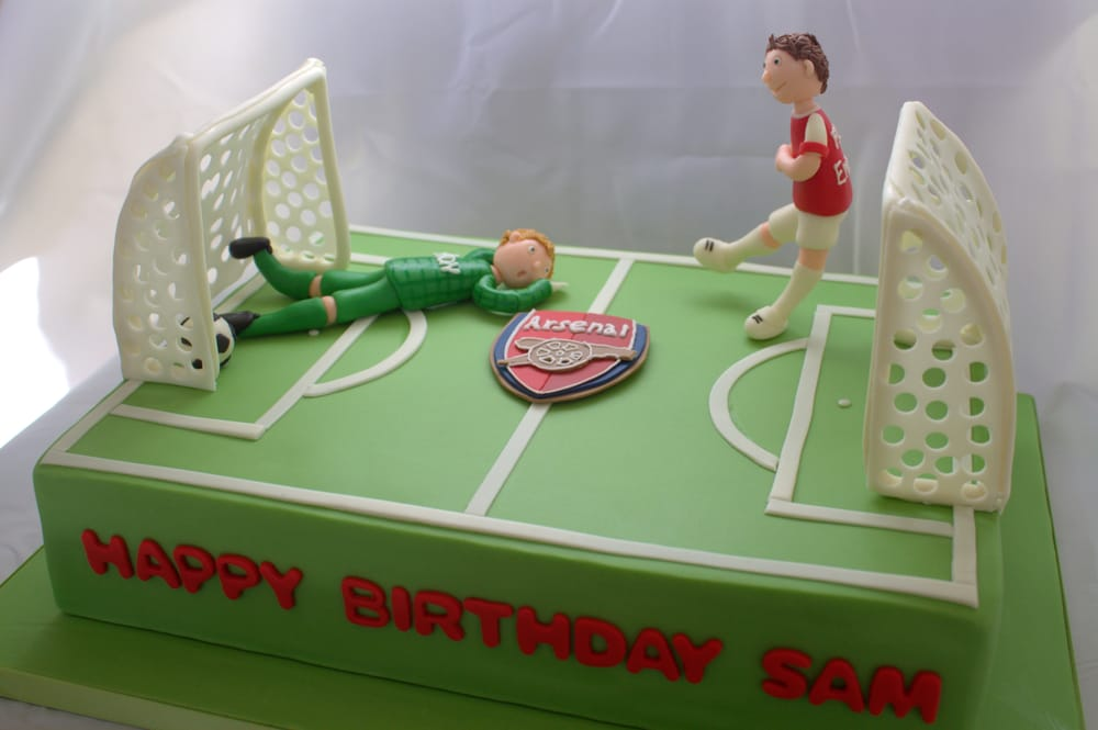 Arsenal Soccer Fan Birthday Cake Yelp