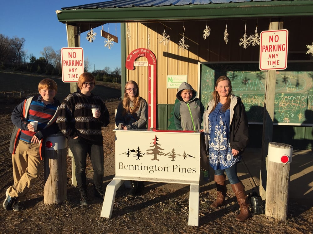 Bennington Pines Christmas Tree Farm: Nebraska 36, Bennington, NE