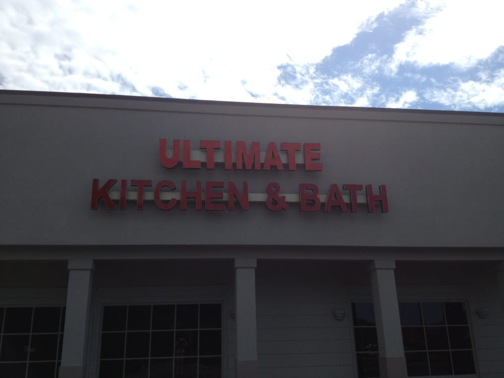 Ultimate kitchen bath sign yelp for Bath ultimate