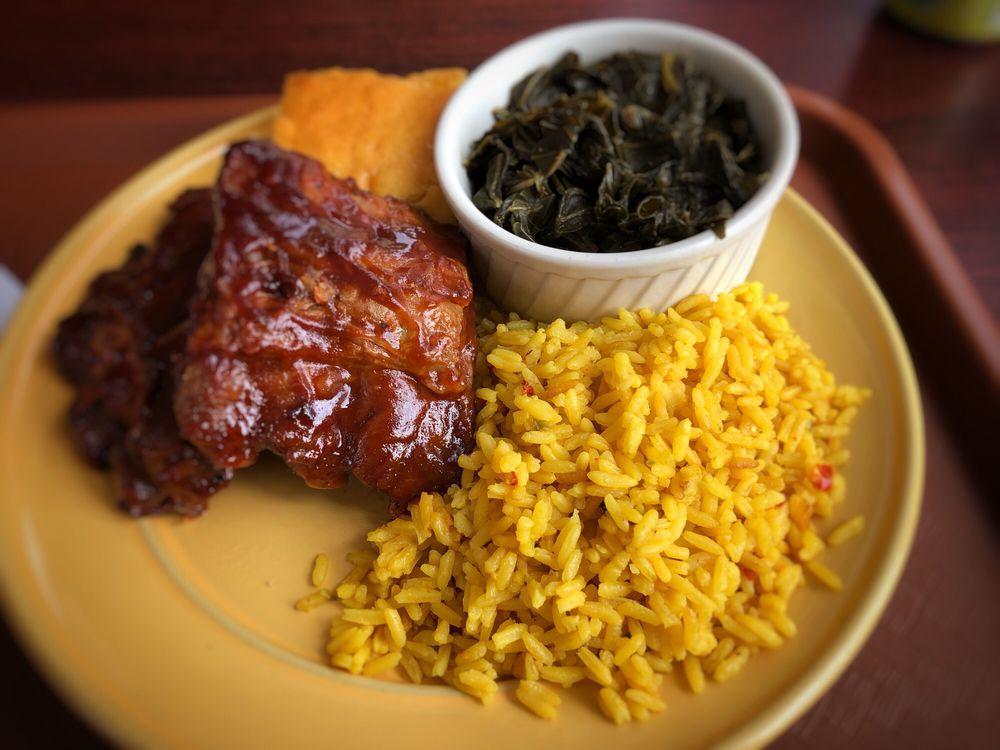 Food from Addie Lee's Soul Food