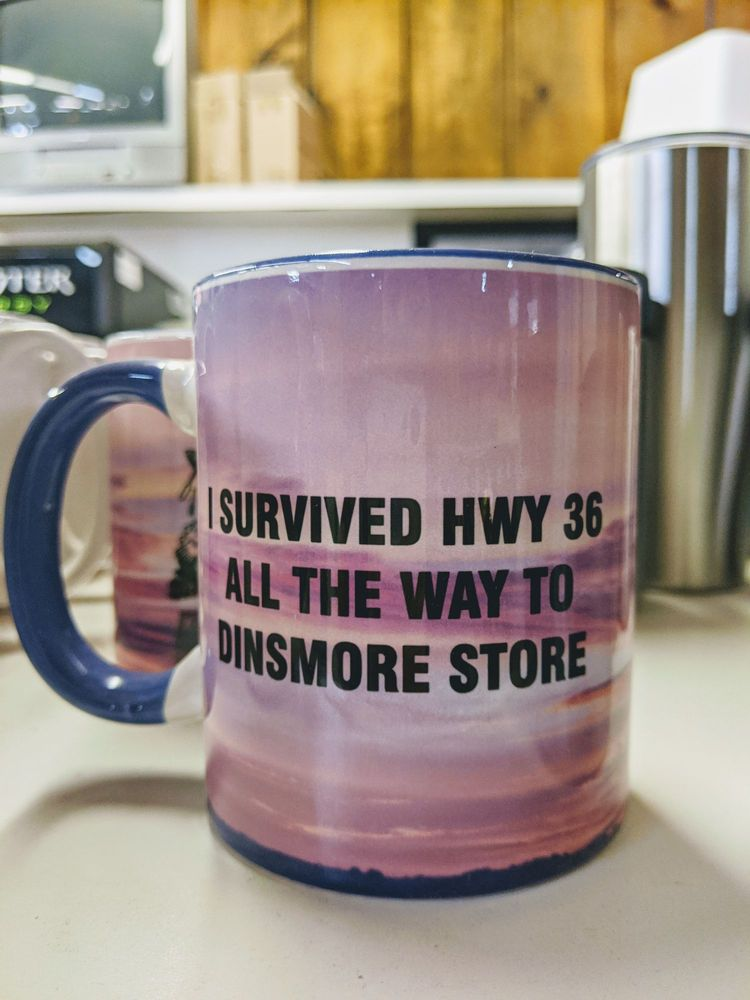 Dinsmore Store: 43819 State Highway 36, Bridgeville, CA