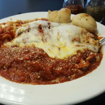 Photo Of Primos Italian Pizza Kitchen   Statesboro, GA, United States.  Eggplant Parmesan