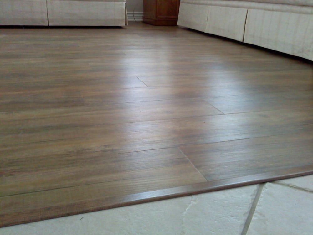 Our Client S Vinyl Plank Floor Job Yelp