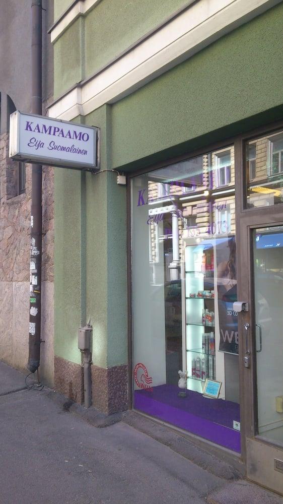 Kampaamo Eija Suomalainen  Liisankatu 18 D, Kruununhaka, Helsinki  Puhelinn