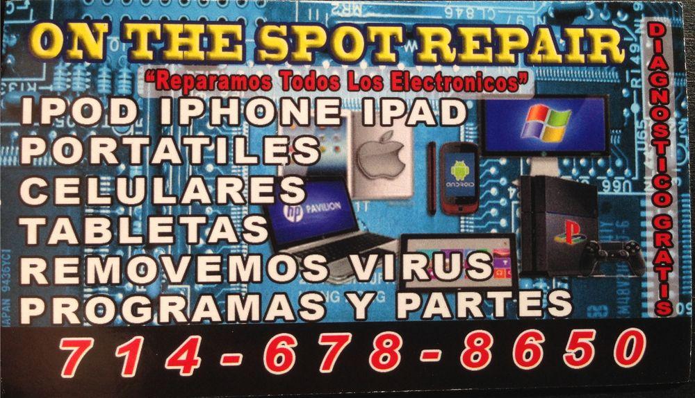 On The Spot Phone Computer Repair