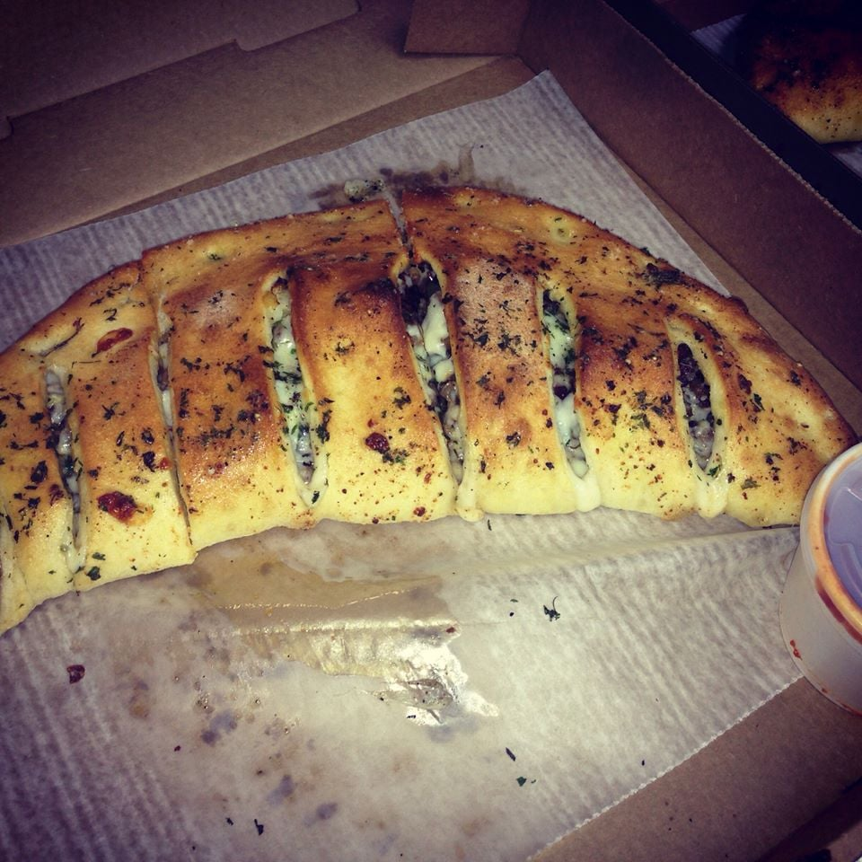 Huge AND Delicious Calzones