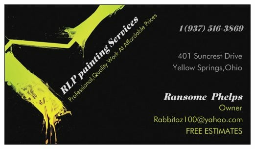 Rlp Painting Services: 2385 Beaver Valley Rd, Beavercreak, OH