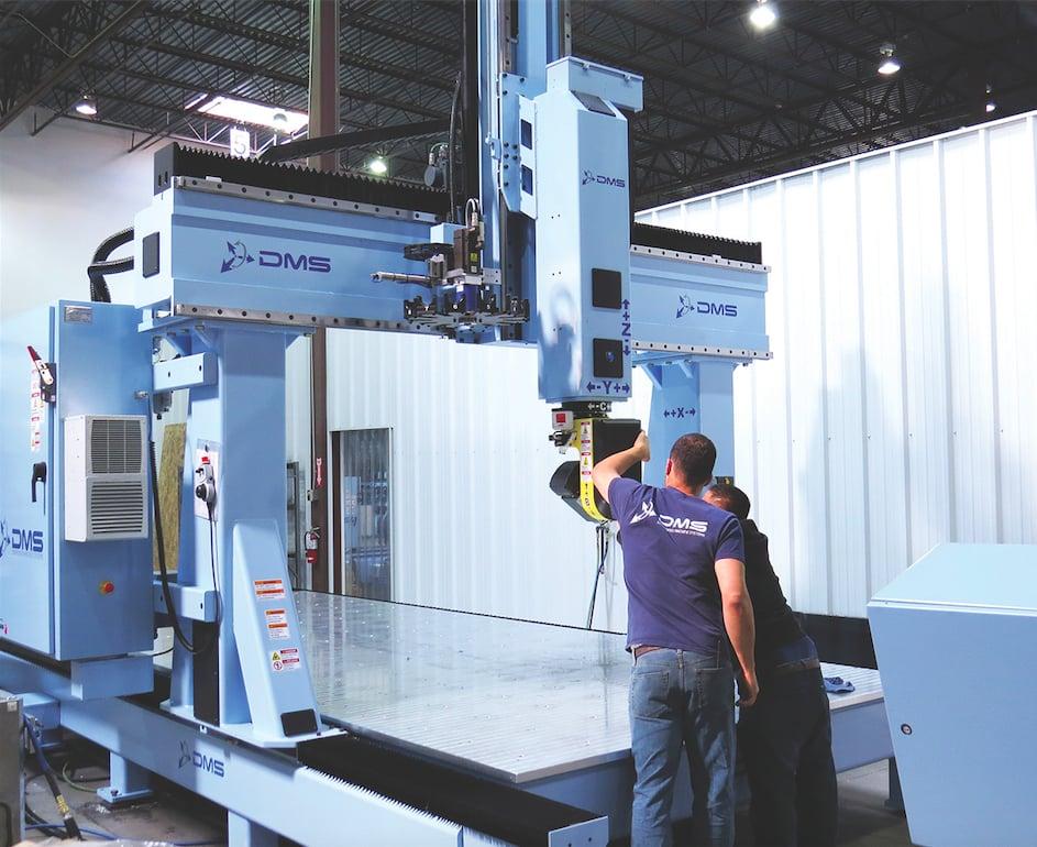 Dms 5 Axis Large Format Gantry Cnc Machine Yelp