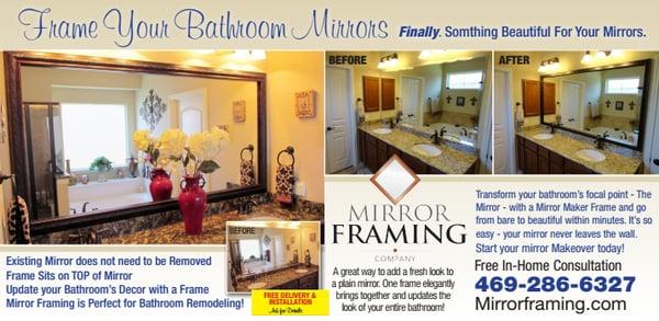 Mirror Framing Company 8000 Coit Rd Ste 300c Plano, TX Art Galleries ...
