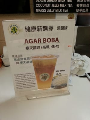 Agar boba aka white pearls are a must! | Yelp