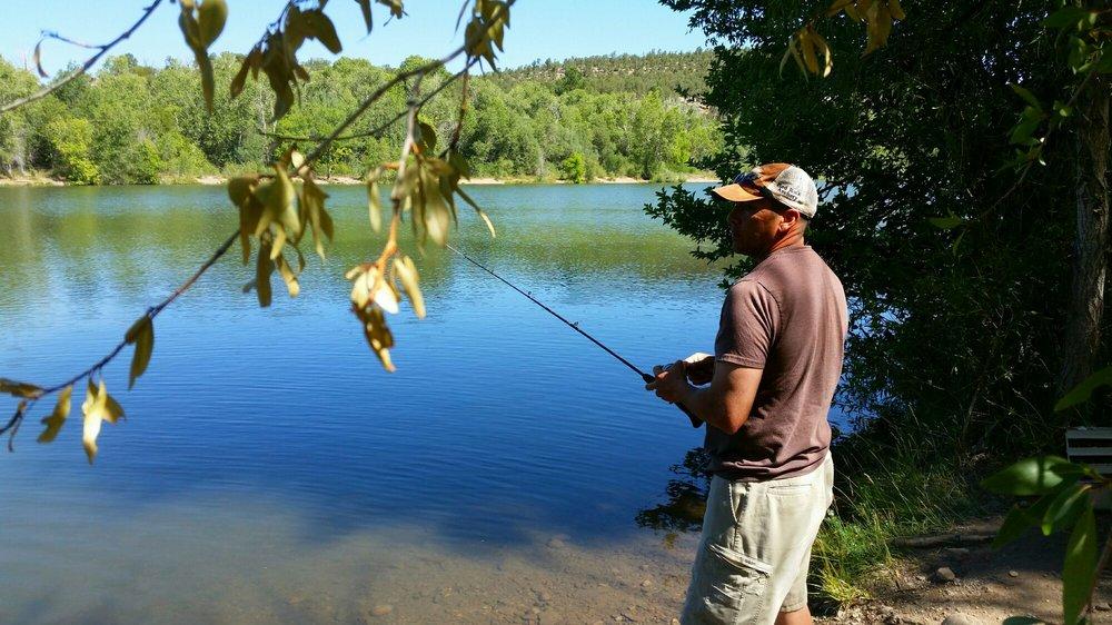 Monestary Lake: Monastery Lake Rd, Pecos, NM