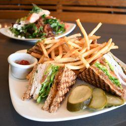 Photo Of Second Story Restaurant Manhattan Beach Ca United States Club Sandwich